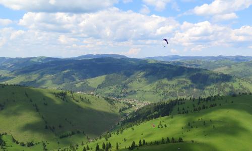 Fliegen in Rumänien
