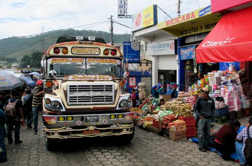 abenteuerreise honduras mit chickenbus