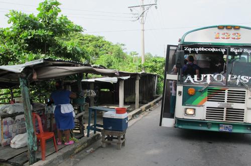 abenteuerreise nicaragua kurze pause mit erfrischung