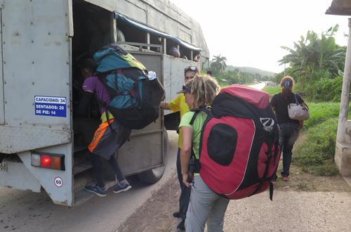 gleitschirmreise kuba rückfahrt nach der strecke